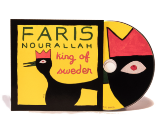 CD cover King of Sweden by Faris Nourallah